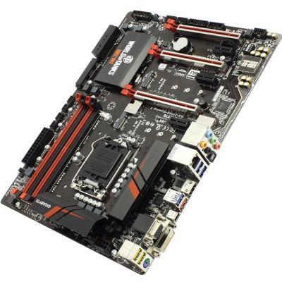 ����������� ����� Gigabyte rev1.0 (RTL) LGA1151 < Z170 > 3xPCI-E Dsub+DVI+HDMI GbLAN SATA RAID ATX 4DDR4 GA-Z170X-GAMING 3