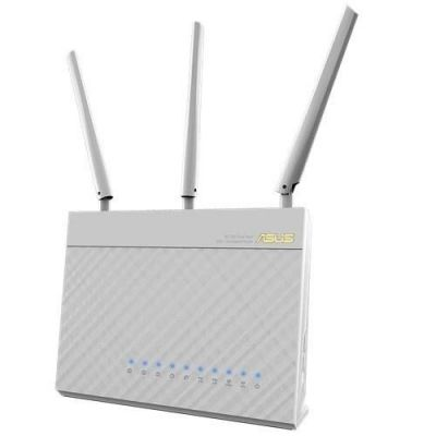 Wi-Fi ������ ASUS Dual-band Wireless-AC1900 Gigabit Router RT-AC68U white