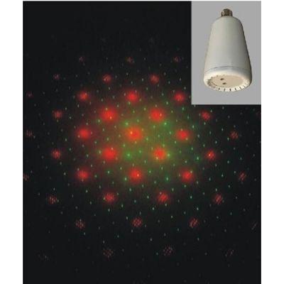 Nightsun Светодиодный прибор - цоколь, эффект звездного неба HQB011