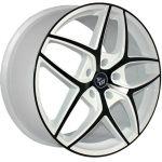 Колесный диск YST X-19 7x17/5x100 ET48 D56.1 W+B