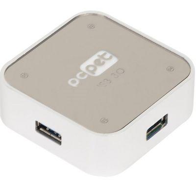Pc Pet Разветвитель USB 3.0 4порт. серебристый ALUMINIUM SILVER BW-C3012A