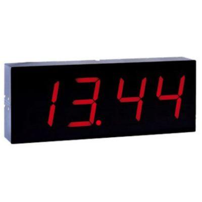 Интерфейс PERCo связи AU05 табло системного времени, индикация красного цвета, RS-485