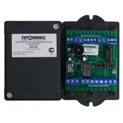 Контроллер Промикс KZ-04 для ограничения доступа к банкомату