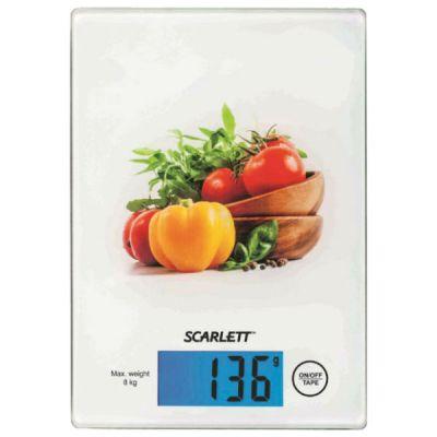 Кухонные весы Scarlett SC-1217 vegetable mix