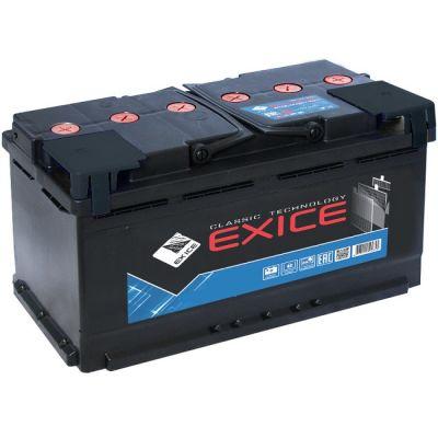 Автомобильный аккумулятор Exice Classik 190 NR п.п. EURO (конус) ( + - ) 9195466