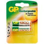 Батарейки GP Аккумулятор GP 130AAHC AA 1300mAh (2шт.уп.) GP 130AAHC-2DECRC2