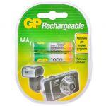 Батарейки GP Аккумулятор 100AAAHC AAA NiMH 1000mAh (2шт.уп.) 100AAAHC-2CR2