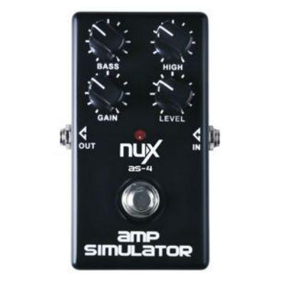 Педаль эффектов Nu-X AS-4 Modern Amplifier Simulator