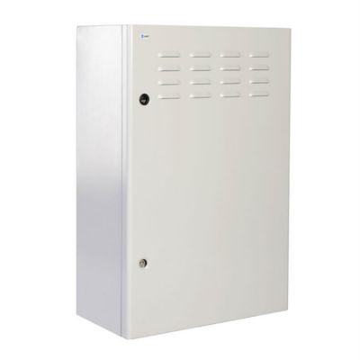 Шкаф ЦМО уличный всепогодный настенный 9U (600х300), передняя дверь вентилируемая ШТВ-Н-9.6.3-4ААА