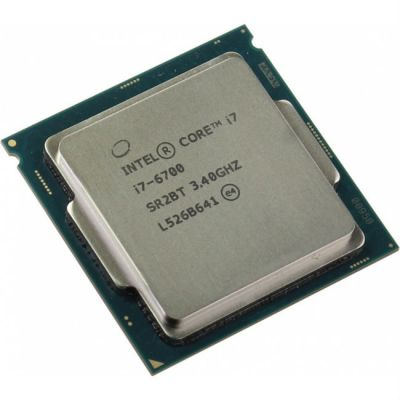 ��������� Intel SR2L2 CPU Intel Core i7 6700 (3.4GHz) 8MB LGA1151 OEM (Integrated Graphics HD 530 350MHz)
