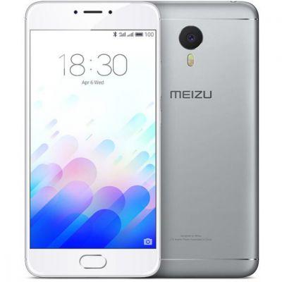 Смартфон Meizu M3 Note 16Gb Silver/White (1194699)