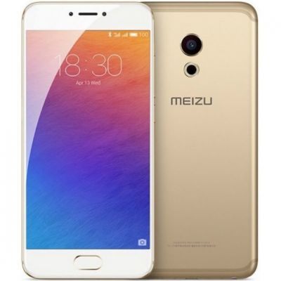 Смартфон Meizu Pro 6 64Gb Gold/White (1194709)