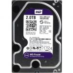 "������� ���� Western Digital 2 ��, Purple, ��� ���������������, 3.5"", SATA 6Gb/s, 2000 ��, ����� 64 ��, PURX WD20PURX"