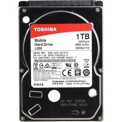 "Жесткий диск Toshiba L200 2.5"" HDWJ110EZSTA"