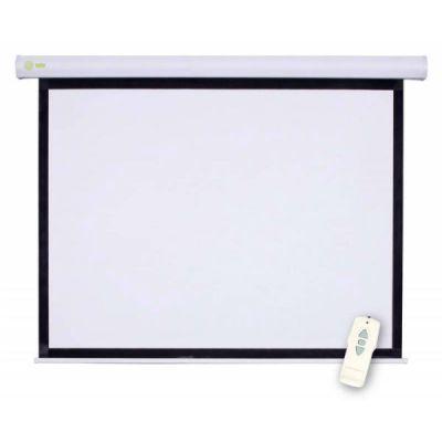 Экран Cactus 150x150см Motoscreen 1:1 настенно-потолочный рулонный белый (моторизованный привод) (CS-PSM-150x150)