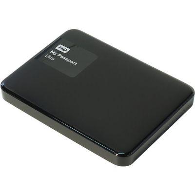 """Внешний жесткий диск Western Digital Original USB 3.0 500Gb My Passport Ultra (5400 об/мин) 2.5"""" черный WDBBRL5000ABK-EEUE"""