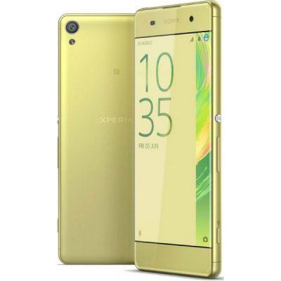 Смартфон Sony Xperia XA F3111Lime_Gold