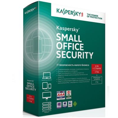Антивирус Kaspersky Small Office Security 4 for Desktops and Mobiles Russian Edition. 5-Workstation + 5-Mobile device 1 year Base License Pack KL4131RCEFS