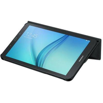 "Чехол Samsung для Galaxy Tab E 9.6"" Book Cover полиуретан/поликарбонат черный EF-BT560BBEGRU"