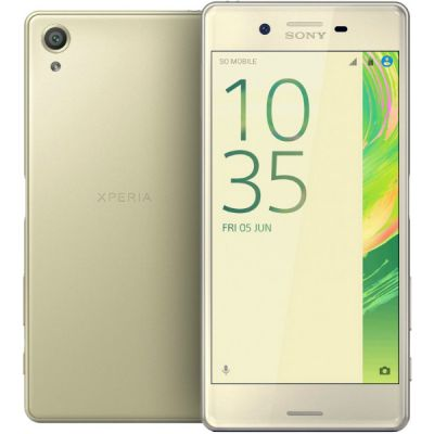 Смартфон Sony Xperia X Performance F8131Lime_Gold