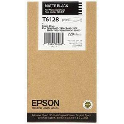 Картридж Epson T6128 Black/Черный (C13T612800)
