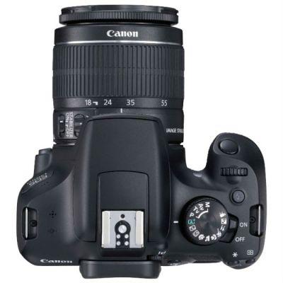 Зеркальный фотоаппарат Canon EOS 1300D KIT (черный) 1160C005