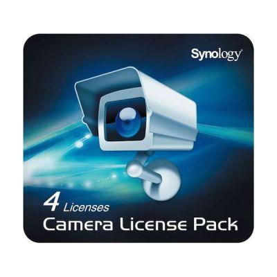 Synology Лицензия для подключения четырех IP камер LICENSEPACK4