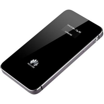 Модем Huawei 4G E5878 Wi-Fi +Router внешний, черный E5878S-32