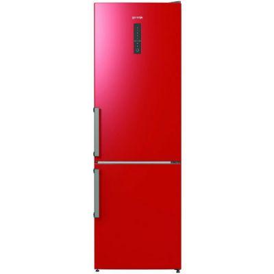 Холодильник Gorenje NRK6192MRD красный (двухкамерный)