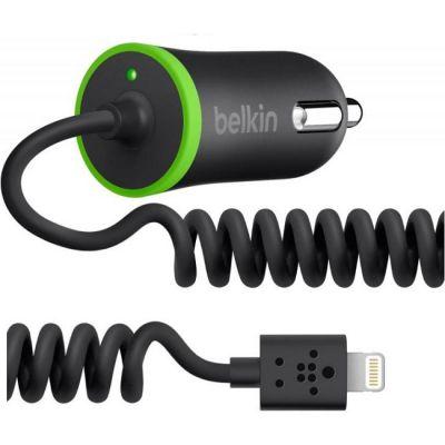 Зарядное устройство Belkin Автомобильное 4.2A для Apple черный F8J114BT04-BLK