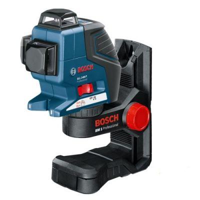 Нивелир Bosch лазерный линейный GLL 3-80 P + держатель BM1 0601063309