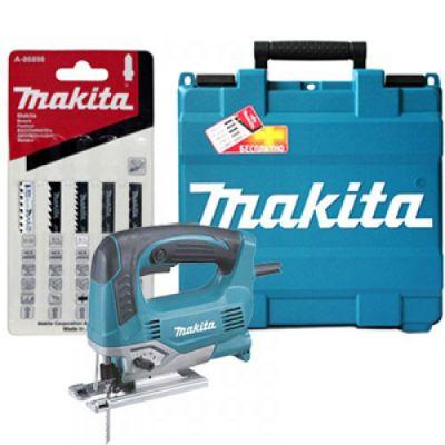 Электролобзик Makita JV0600KX + набор A-86898