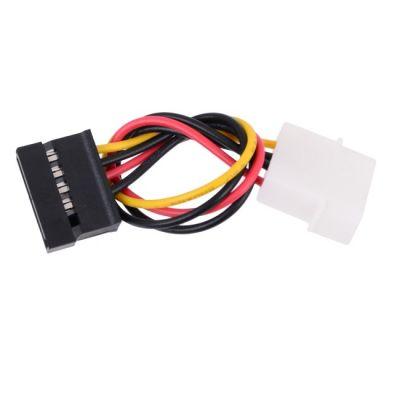 Кабель Orient питания SATA Molex(4pin, БП) - SATA (устройство), 14см