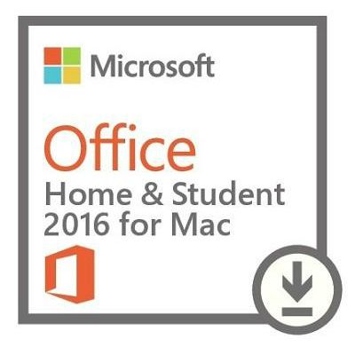 Лицензия ESD Microsoft Office 2016 Home and Student MAC ALL LNG GZA-00665