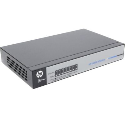 Коммутатор HP 1410-8 Switch (8 ports 10/100, Fanless, Unmanaged, desktop) (repl. for JD856A) J9661A