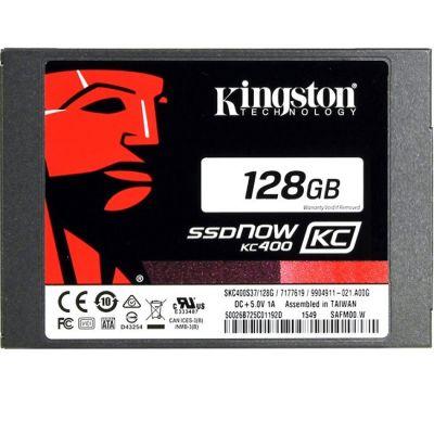 ������������� ���������� Kingston 2.5 128 Gb Kingston SATA 3 KC400 SKC400S37/128G