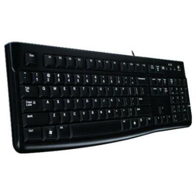 Клавиатура Logitech K120 EER черный USB