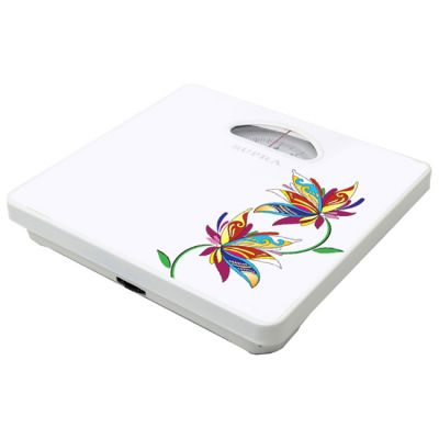 Весы напольные Supra BSS-4060 Flower (белый/рисунок)