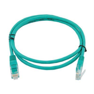Кабель AOpen Patch cord (Патч-корд) литой UTP кат.5е 1м зеленый (ANP511_1M_G)