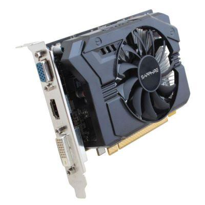 Видеокарта Sapphire PCI-E 11215-21-10G AMD Radeon R7 250 2048Mb 128bit GDDR3 925/1600 DVIx1/HDMIx1/CRTx1/HDCP oem 11215-21-10G
