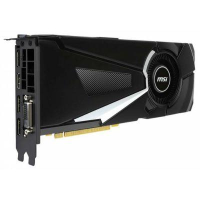 Видеокарта MSI PCI-E GTX 1070 AERO 8G OC nVidia GeForce GTX 1070 GTX 1070 AERO 8G OC