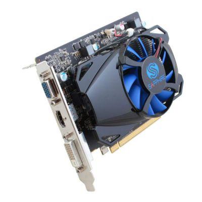 Видеокарта Sapphire PCI-E 11215-19-10G AMD Radeon R7 250 1024Mb 128bit GDDR5 925/4500 DVIx1/HDMIx1/CRTx1/HDCP oem 11215-19-10G