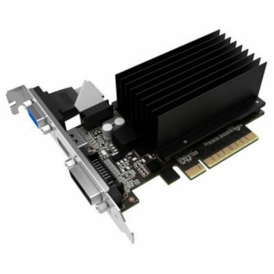 ���������� Palit PCI-E PA-GT710-1GD3H nVidia GeForce GT 710 1024Mb 64bit DDR3 954/1600 DVIx1/HDMIx1/CRTx1/HDCP oem low profile NEAT7100HD06-2080H BULK