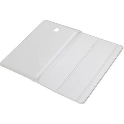 "Чехол Samsung для Samsung Galaxy Tab E 9.6"" Book Cover полиуретан/поликарбонат белый (EF-BT560BWEGRU)"