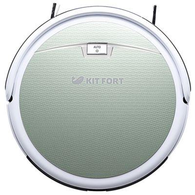 Пылесос Kitfort робот КТ-519 (зеленый/белый)