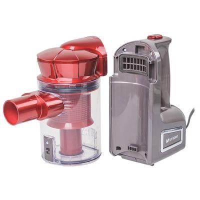 Пылесос Kitfort электровеник КТ-513 (красный/серый)