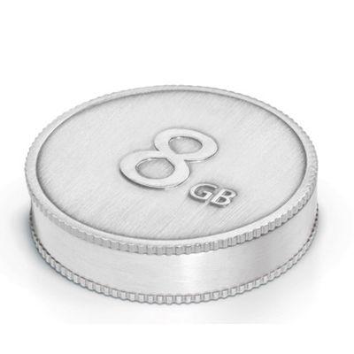 Флешка LaCie 8Gb CurrenKey USB Silver 130826