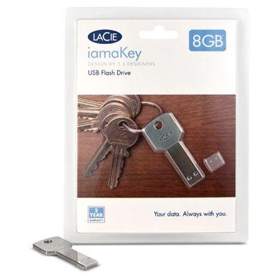 Флешка LaCie 4Gb iamaKey Slim USB 130869