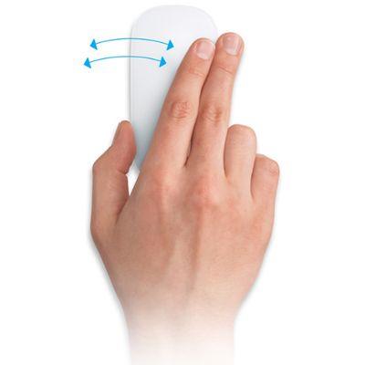 Мышь Bluetooth Apple беспроводная cенсорная Magic Mouse MB829