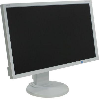 Монитор Nec MultiSync E233WM-Silv/White